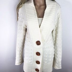 Charlie & Robin Anthropologie Chunky Knit Cardigan